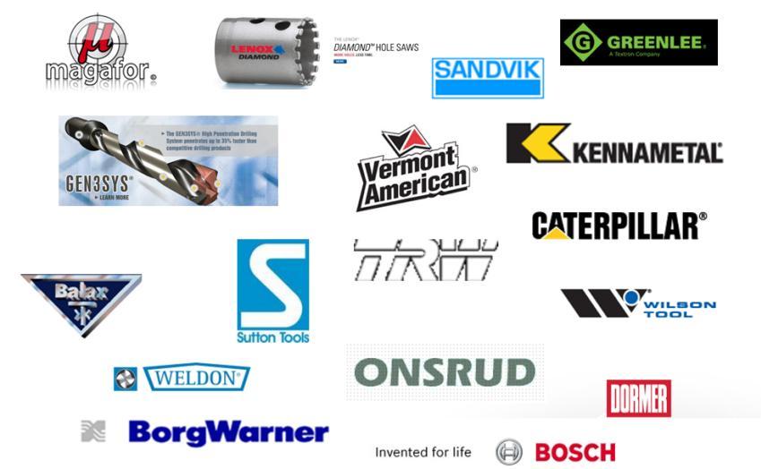 Tool & Part Manufacturers